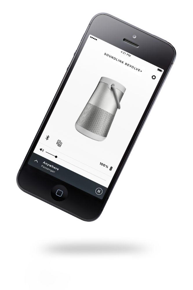 BOSE SoundLink Revolve+ s aplikáciou Bose Connect app