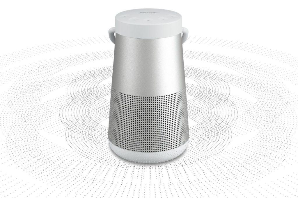 BOSE SoundLink Revolve+ ponúka 360° šíreniu zvuku